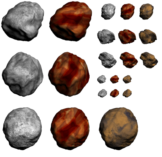 asteroid sprite wall - photo #31